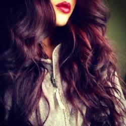 burgundy plum hair color plum purple burgundy hair styles to dye for