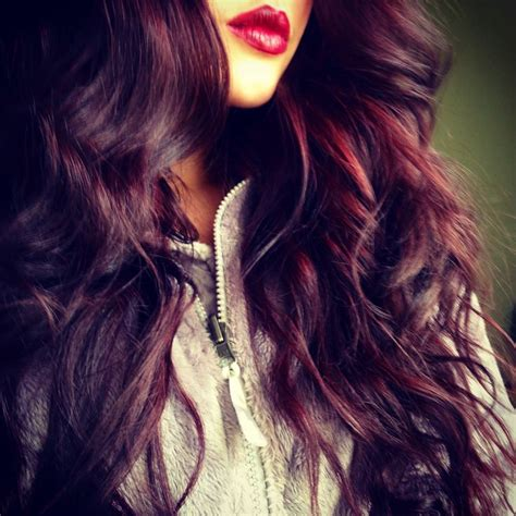 red plum hair 3 on pinterest 89 pins red plum purple burgundy hair styles to dye for