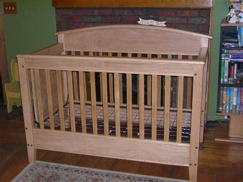Oak Cribs by Oak Crib By Lac14903 Lumberjocks Woodworking
