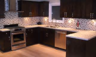 Mosaic Glass Backsplash Kitchen by Mosaic Kitchen Tile Backsplash Ideas 2565 Baytownkitchen