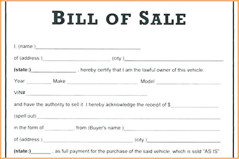 Free Receipt Template For Car Sale by Car Sale Receipt Form Sale Of Car Receipt Receipt Of Sale