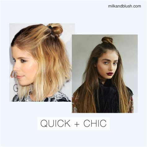 easy hairstyles for school when running late running late 10 fast easy hairstyles for school college
