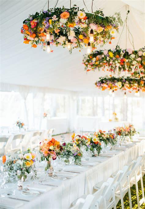 chandelier with flowers wedding wednesday trend chandeliers with flowers parfum
