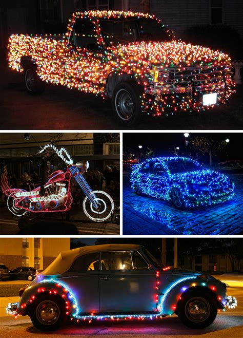 best christmas decirations for car for the of santa 22 decorations urbanist