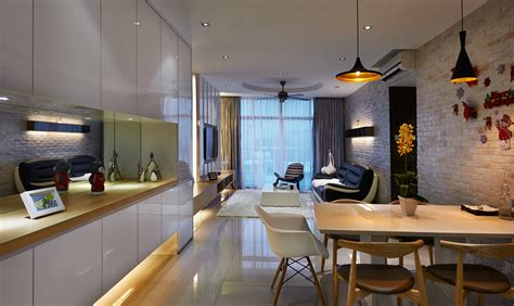 House Interior Design Ideas Malaysia Creating A Larger Sense Of Space With A Modern