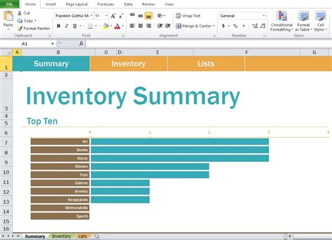 free inventory spreadsheet sample template excel tmp