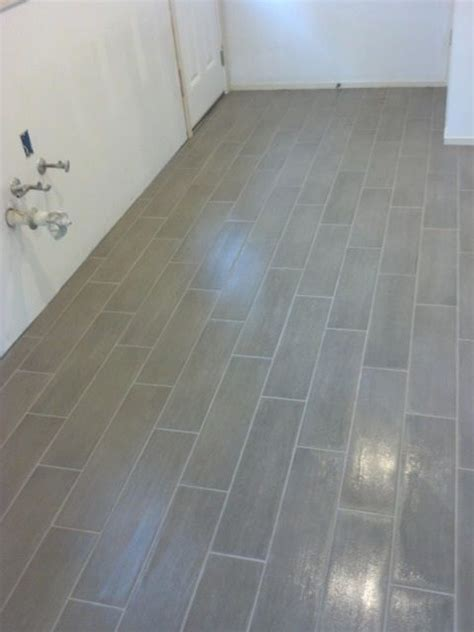 bathroom tile layout 6x24 tile layout bathrooms pinterest herringbone laundry room floors and planking