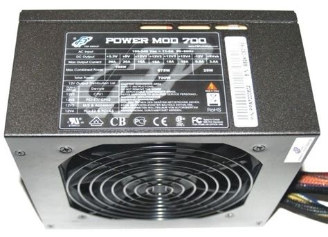 Power Supply Dazumba 700 Watt Modular fsp power mod 700 watt modular power supply