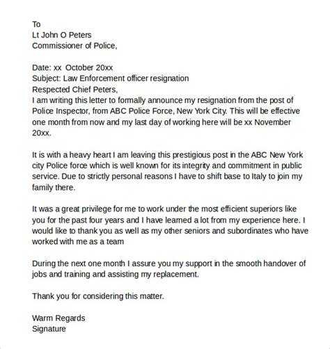 Letter Of Intent Conclusion Exle enforcement letter of intent exle 28 images 15