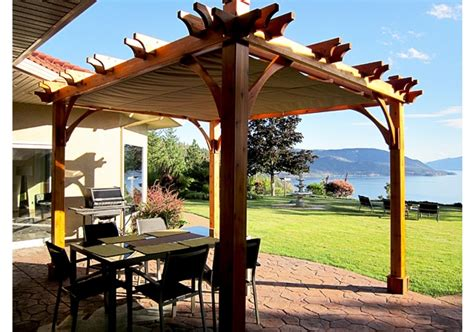 pergola retractable canopy 8 x 10 outdoor living today