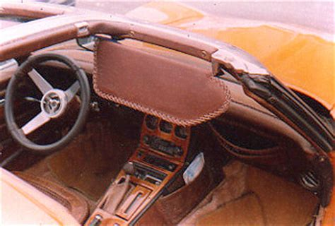 Custom Leather Auto Upholstery by Corvette Leather Interior Custom