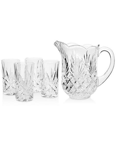 godinger barware godinger barware dublin 5 piece beverage set all glassware drinkware dining