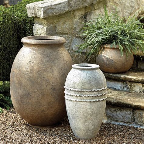 Planters Jar by Cagna Olive Jar Planter Ballard Designs