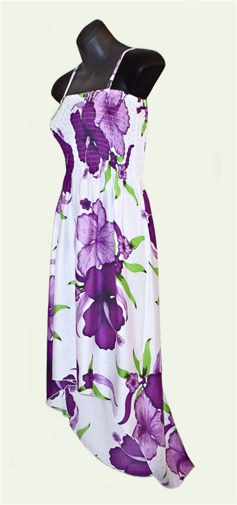 sarongsetc hibiscus flower hi lo sun dress