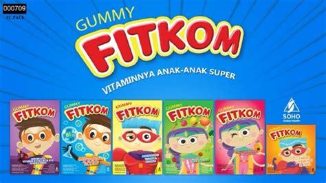 Vitamin Fitkom Gummy Iklan Fitkom Gummy Rangers Vitamin Anak