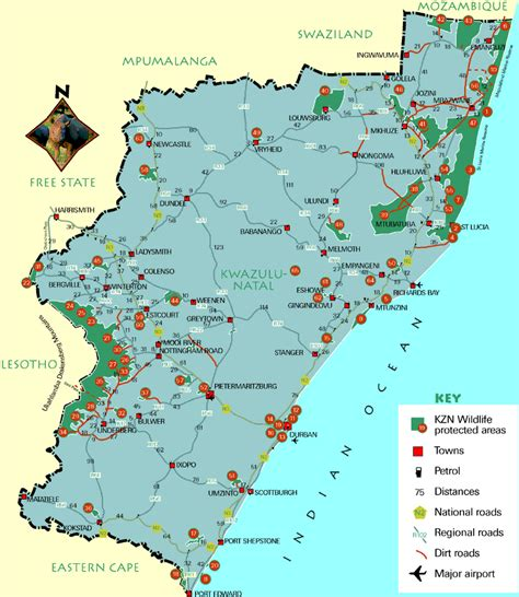 sodwana bay map