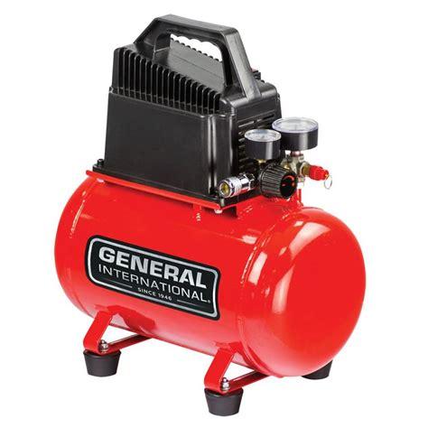 general international 3 gal 1 3 hp free portable electric air compressor ac1200