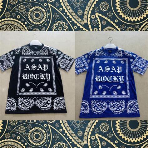 bandana pattern t shirt rhude t shirt men paisley pattern cashew bandana gothic