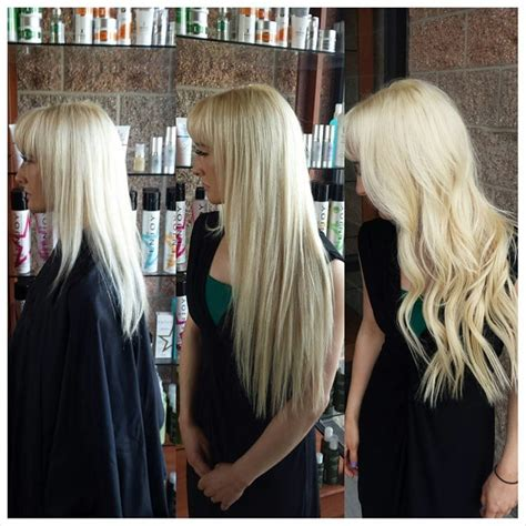 row hair extensions 18 inch beaded row extensions by hailey www