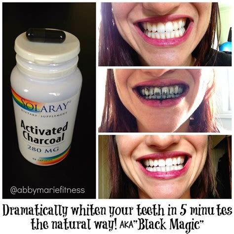 minute teeth whitening scrub  activated charcoal