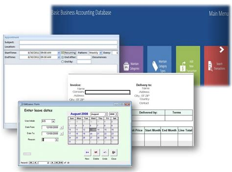 Ms Access Database Templates Some Are Even Free Microsoft Access Templates