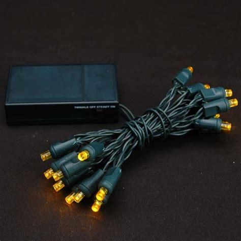 led lights battery operated yellow 20 light battery operated lights on green
