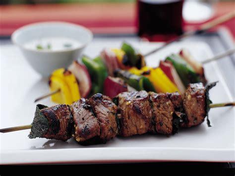 lamb kebabs turkish shish kebabs with garlicky tahini recipe steven