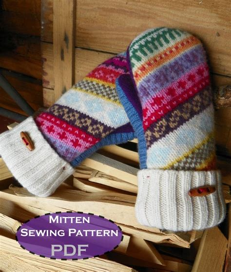 pattern sewing mittens madawaska mittens mittens sewing patterns and patterns