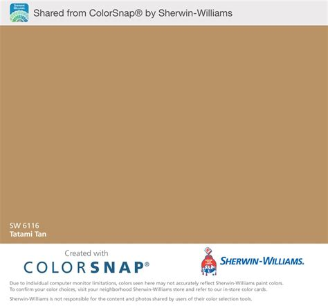 color snap app tatami sherwin williams color snap app shows this
