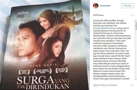 Original Novel Surga Yang Tak Dirindukan Cover Poligami Yang Tak Dirindukan Nusaidaman