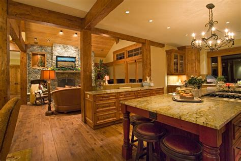 kitchen great room caldera springs builder steve builders