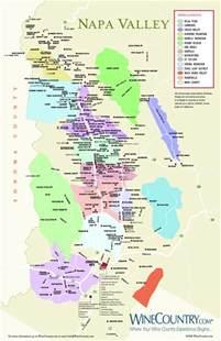 napa california map the grapist wine region napa valley