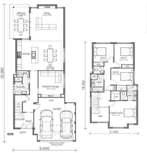 como hacer el plano de una casa planos de casas de dos pisos modernas construye hogar