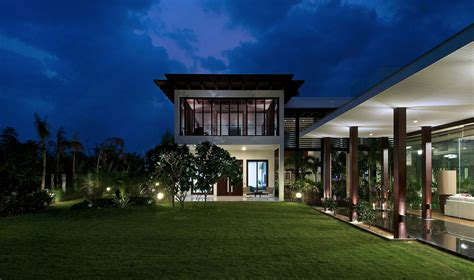 contemporary house  ahmedabad india  hiren patel