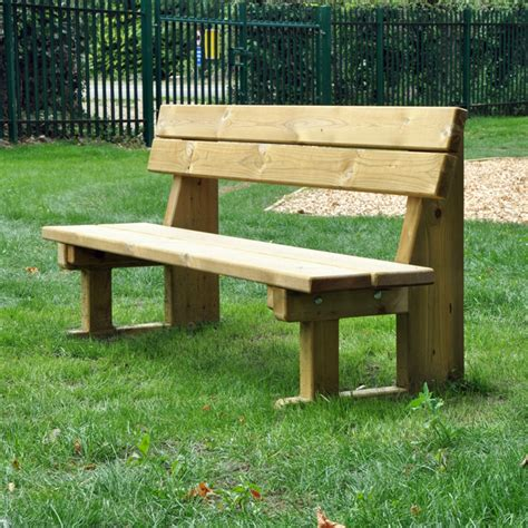 playground benches outdoor park bench rpf7 online playgrounds