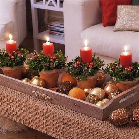 Natural Christmas Table Centerpieces - diy christmas candle centerpieces 40 enchanting ideas for your table diy masters blog