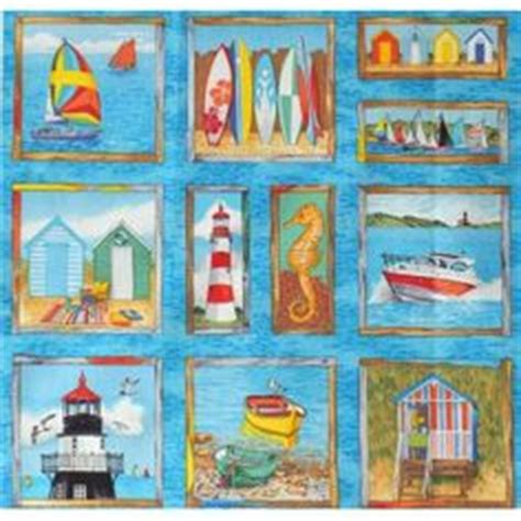 Patchwork By The Sea - lighthouses on lighthouses scotia and quilt