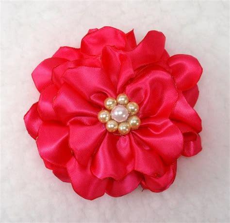 best 25 satin flowers ideas on pinterest ribbon flower