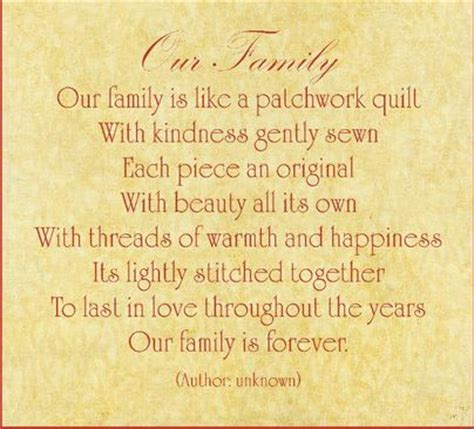 Patchwork Poem - poems about family family poem resource and reflection