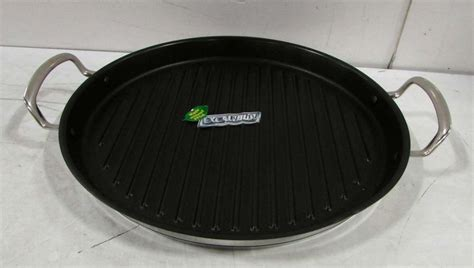 princess house stainless steel nonstick 13 inch grill pan