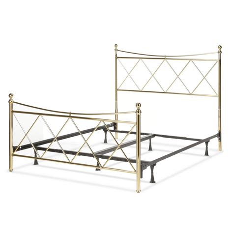 bed frame feet home depot fashion bed group lennox classic brass california king bed