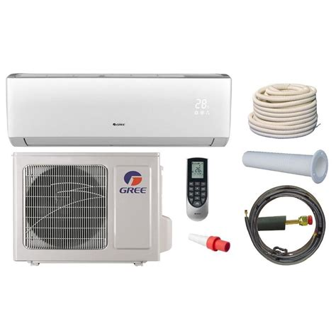 installation ductless mini split 410a air conditioner heat mitsubishi compressor aircon unit kelvinator 2 ton 13 seer r 410a split system central air conditioning system js4bd024kb the
