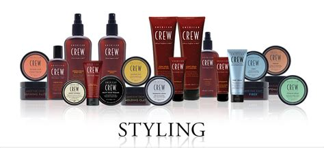 how to style your hair with crew fiber products american crew