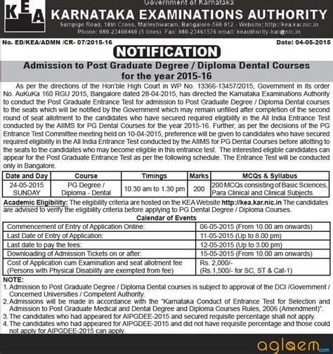 Mba Application 2015 Karnataka by Karnataka Pget 2015 Counselling