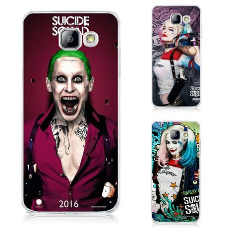 Casing Hp Samsung J7 2015 Comics Squad Custom Hardcase aliexpress buy jared leto joker margot robbie harley quinn squad dc comics