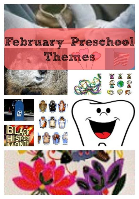 february themes in kindergarten 18 best february preschool themes images on pinterest