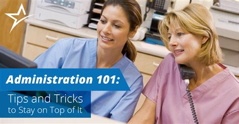 healthcare administration tips