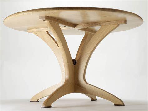 Bespoke Oak Dining Tables Bespoke Dining Table In Solid Oak Makers Eye