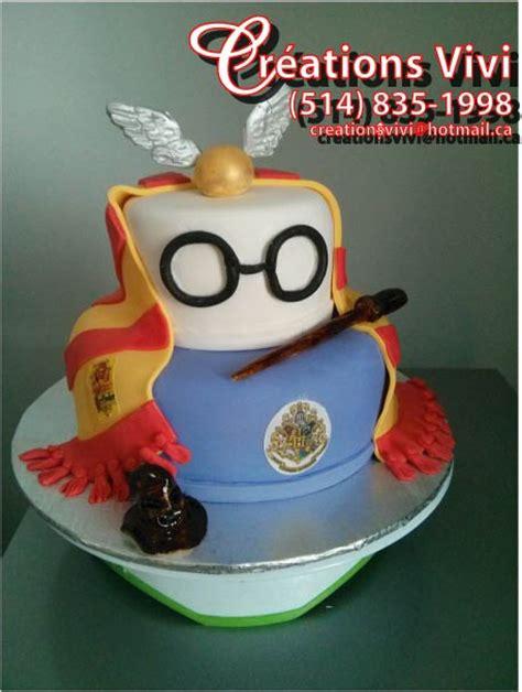 Biscuit Cake g 226 teau d anniversaire harry potter cr 233 ationsvivi ca