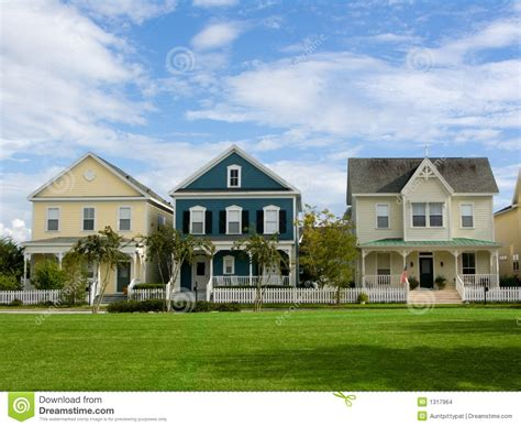 small american town small town america stock photo image of home lawn